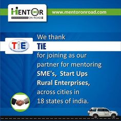 Welcome TiE as our association partner....