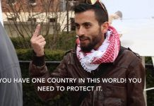 Proud Israeli-Arab Confronts a Leftwing Jew at Columbia University