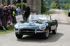 James and Pippa honeymoon car