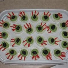 pratos salgados para festa de halloween - Pesquisa Google