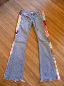 iDEA TO ALTER MY BLUE JEANS