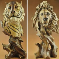The animal, Home Furnishing decorations, tiger / lion / Parrot / horse / Wolf / Eagle / dove crafts