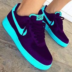 Shop Women's Nike size 11 Sneakers at a discounted price at Poshmark. Description: ONLY WORN FOR THE PICTURE. Jordan Shoes Girls, Girls Shoes, Ladies Shoes, Shoes Women, Cute Sneakers, Sneakers Nike, Nike Shoes Air Force, Nike Shoes Blue, Aesthetic Shoes