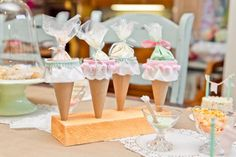 Peach & Mint Girl Bake Shop Bakery Party Planning Ideas