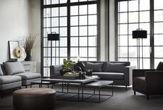Scandinavian design is associated mainly with IKEA, the most famous and popular Swedish brand, available to almost everyone. But there is another side of ✌Pufikhomes - source of home inspiration Living Room Sofa, Living Room Interior, Arch Interior, Interior Design, Coffe Table, Home Staging, Beautiful Interiors, Scandinavian Design, Scandinavian Interiors