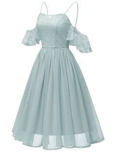 Lace Cold Shoulder Strap Dress – Retro Stage - Chic Vintage Dresses and . - - Lace Cold Shoulder Strap Dress – Retro Stage – Chic Vintage Dresses and Accessories Source by Cute Prom Dresses, Elegant Dresses, Pretty Dresses, Beautiful Dresses, Short Dresses, Homecoming Dresses, Teen Fashion Outfits, Fashion Dresses, 90s Fashion