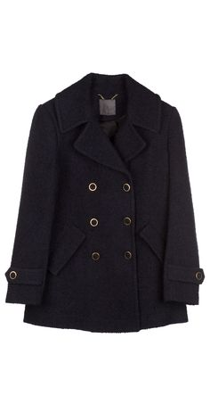 Channeling our inner Parisian in the Gabrilyn Coat in dark navy.