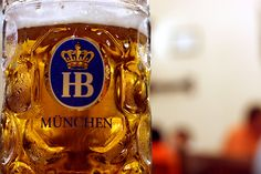 hofbrauhaus munchen....I have been there, but I was just 17. I can't even drink the beer there now that I am 23, but the environment was such fun!