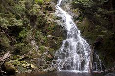 Saw Blade Falls in Pinecone Burke Provincial Park