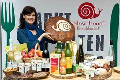 """Großes Treffen der Food-Blogger auf dem """"Markt des guten Geschmacks – die Slow Food Messe"""" 2013 in Stuttgart."""