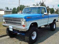 Custom 4x4 Trucks | 1968 Ford Custom Cab F-250 4x4 Pickup Truck
