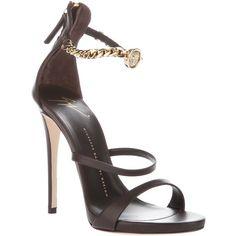 GIUSEPPE ZANOTTI stiletto sandal via Polyvore