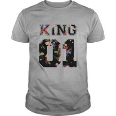 King And Queen Couple T-Shirts, Hoodies (20.5$ ==► Order Here!)