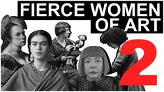 Our first video on fierce women artists didn't even begin to cover the volume of interesting and boundary-pushing work made by women, so we had to make anoth...