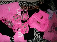 Lots of VS PINK Stuff, part of my collection :)