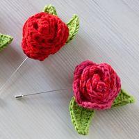 Broche Rosa Sant Jordi