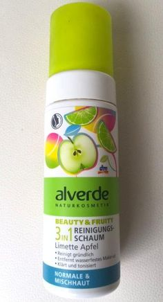 Mein Testbericht zum alverde Beauty & Fruity 3in1 Reinigungsschaum Limette Apfel http://www.combeauty.com/mein-testbericht-zum-alverde-beauty-fruity-3in1-reinigungsschaum-limette-apfel.html