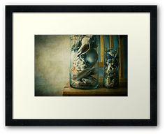 « Cabinet of curiosities » by Thierry Wojtczak.  Available for sale at http://www.redbubble.com/people/thierrywojtczak/shop
