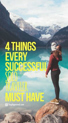 I travel around the world for months at a time alone. People want to know how I do it. These are the 4 things that help me make it happen.