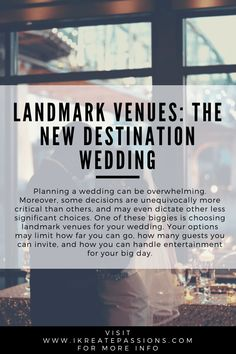 Landmark Venues: The New Destination Wedding Pictures Of You, Travel Pictures, Travel Photos, Destination Wedding, Wedding Venues, Wedding Planning, Wedding Ideas, Travel And Tourism, Travel Tips