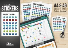 Weather Collection Stickers http://selz.co/1AOydTo