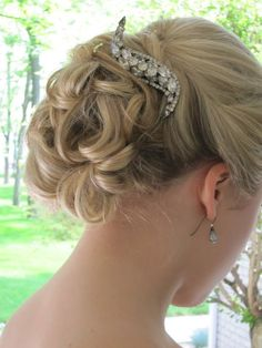 My actual very own prom hair for 2013 Lowell High School So Icy Prom! :)