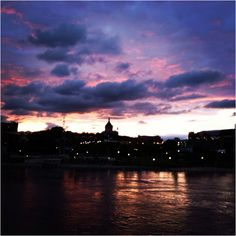 The St. Paul Cathedral in the sunset tonight 5/29/12 #StPaul #Mississippi