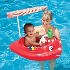 Tug boat is a baby pool float with canopy and many interactive features! A boat pool float with a rescue theme including a steering wheel and horn that really honks! Have no fear, Tug Boat is here to help! Baby Float, Swimming Pool Toys, Baby Pool, Learn To Swim, Water Toys, Water Play, Pool Floats, Tug Boats, Kids Prints