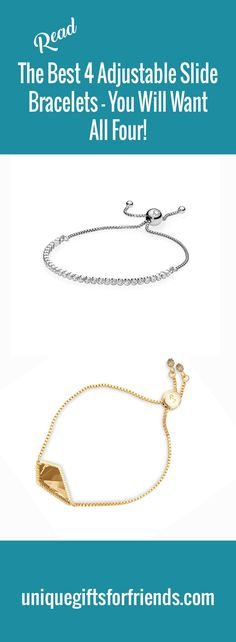 b4f2cf710 The 4 Best Silver Adjustable Slide Bracelets - You Will Want All 4!