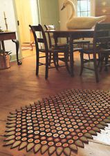 Penny Rug Pattern Instructions Templates Gorgeous