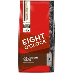 Eight O'Clock Colombian Peaks Whole Bean Coffee, 40-Ounce Package -- More info could be found at the image url.