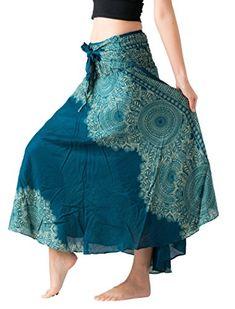 e96d6f5f3b6 Bangkokpants Women s Long  Hippie  BohemianSkirt Gypsy Dress Boho   apparel plus  size women