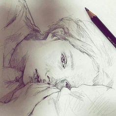 Pencil sketch  sketchbook