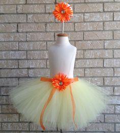 Orange Daisy Tutu