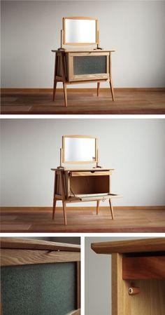 Sideboard Furniture, Deco Furniture, Furniture Projects, Furniture Making, Modern Furniture, Furniture Design, Woodworking Inspiration, Furniture Inspiration, Woodworking Furniture