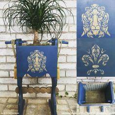 La Vida Dolce: Italian Style Decorating with Stencils - DIY Wall and Furniture Interior Design Ideas