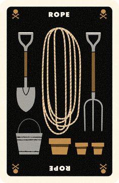Clue Card Rope, Andrew Kolb