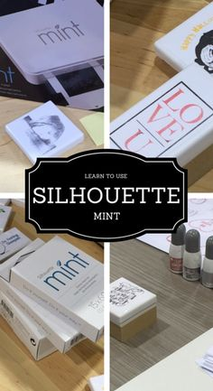 Watch and Learn how to use the Silhouette MINT!