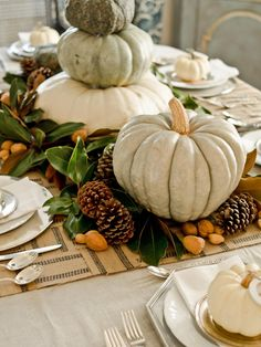 13 Rustic Thanksgiving Table-Setting Ideas | Entertaining Ideas & Party Themes for Every Occasion | HGTV