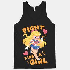 Fight Like A Girl: Venus | T-Shirts, Tank Tops, Sweatshirts and Hoodies | HUMAN
