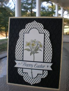 Avant-Garden Jonquils~ by stampin'nana - Cards and Paper Crafts at Splitcoaststampers