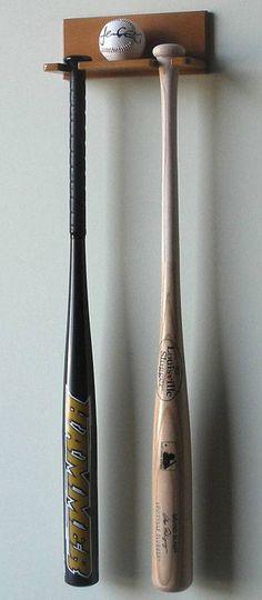 Display Cases - Baseball Bat - Bats & Ball Rack