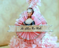 Love the idea of a super blingy Marie Antoinette birthday party...or French/Paris party