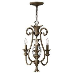 Buy the Hinkley Lighting Pearl Bronze Direct. Shop for the Hinkley Lighting Pearl Bronze Plantation 3 Light 1 Tier Mini Chandelier and save. Empire Chandelier, Bronze Chandelier, Chandelier Ceiling Lights, Mini Chandelier, Chandeliers, Rustic Chandelier, Style Empire, Ceiling Installation, Frases