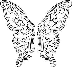 butterfly wing template - Google Search