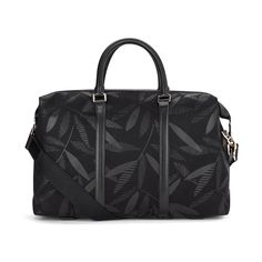 Paul Smith Accessories Men's Large Holdall Bag - Black (€710) ❤ liked on Polyvore featuring men's fashion and men's bags