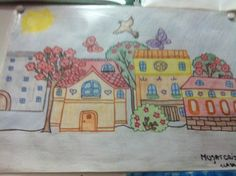 Desen făcut de școală