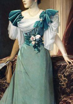 Portrait of Irma von Geijer nee von Hallwyl by Julius Kronberg, 1895