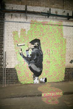 Banksy - Leake Street by Panorama London - art print from King & McGaw Outdoor Sculpture, Outdoor Art, Banksy Art, Bansky, Banksy Monkey, Pop Art, Canvas Prints, Art Prints, London Art