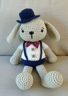 Hand crocheted bunny | by bycreativehands